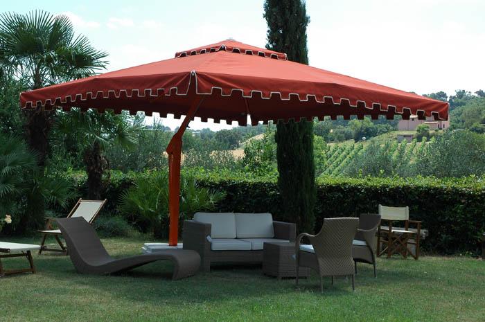 Great Poggesi Garden Patio Umbrellas The Art Of Shading